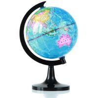 得力地球仪 得力3031 地球仪10.6cm高清全塑行政地理教学地球仪