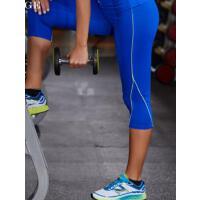 速干跑步舞蹈运动裤  瑜伽裤七分裤女士 紧身高弹力训练健身  支持礼品卡