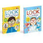 DK职业体验绘本2册 英文原版 Look I'm a Scientist/Cook 科学实验 厨艺菜谱 科学家 厨师