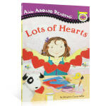 【顺丰包邮】All Aboard Reading Picture Reader Lots of Hearts 汪培�E推