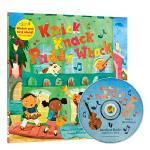 廖彩杏有声书单 英语童谣 英文原版绘本CD Knick Knack Paddy Whack 小鼓槌,咚咚咚 Baref