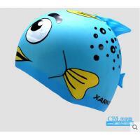 儿童硅胶泳帽大男女童护耳防水男女童游泳帽适合头围 可礼品卡支付