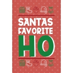 预订 Santa's Favorite Ho: Notebook Journal Composition Blank