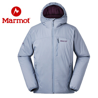 Marmot/土拨鼠2020新款户外防风防水透气保暖男士轻薄棉服
