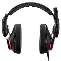 森海塞尔(Sennheiser) PC333D 专业 头戴游戏耳麦 7.1声道环绕音 双插口 黑色