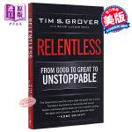 野蛮进化:乔丹、科比御用极限训练师的潜能激发心理学 英文原版 Relentless: From Good to Gre