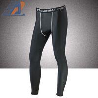 男士篮球pro运动紧身裤保暖 跑步健身裤 九分速干裤 加绒款