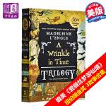 【中商原版】时间的皱纹 三部曲 时间的皱折系列 3故事合1 英文原版 A Wrinkle in Time Trilog
