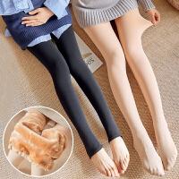 托腹踩脚打底袜加绒加厚连裤袜孕妇丝袜秋冬款外穿打底裤