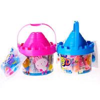 智高(ZHIGAO)3d彩泥玩具套装城堡橡皮泥 儿童DIY益智玩具城堡零钱罐(24色)DD-5025