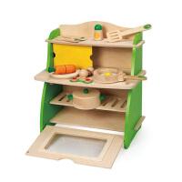 [当当自营]德国Hape 小厨房 过家家玩具 益智玩具 启蒙早教 木制玩具 送礼 E8009