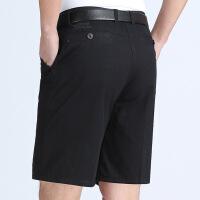 薄款中老年男士7七分裤子休闲中年爸爸装宽松40-50岁西装短裤D0325i
