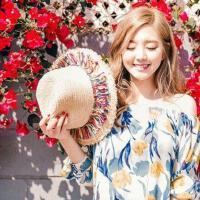沙滩帽可折叠防晒遮阳帽子度假大沿帽 出游大檐草帽女 支持礼品卡