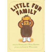 Little Fur Family Board Book 毛绒绒的一家(卡板书) ISBN9780060759605