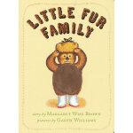 Little Fur Family Board Book 毛绒绒的一家(卡板书) ISBN9780060759605