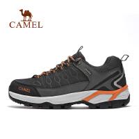 camel骆驼户外男款徒步鞋 耐磨防滑减震低帮舒适男徒步鞋