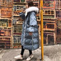 韩版宽松冬季外套孕后期大肚子中长款棉袄孕妇冬装棉衣