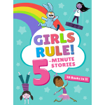 预订 Girls Rule! 5-Minute Stories [ISBN:9780358163725]