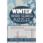 预订 Winter Word Search Puzzles: Seek and Find Word Circle Pu