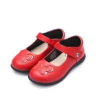 【159元任选2双】暇步士童鞋女童皮鞋中童时尚单鞋礼仪鞋子
