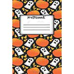 预订 Notebook: Halloween Pumpkin 6'x9' in - 100 Pages - Wide