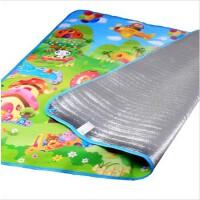 麦宝玩具爬行垫单面防滑防水铝膜游戏爬爬毯地垫野餐沙滩垫居家必备宝宝健身户外室