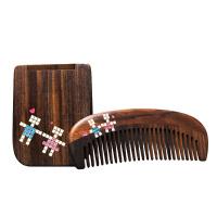 谭木匠 礼盒浪漫之恋 天然木梳子 木镜子 创意情人节礼物 送女生