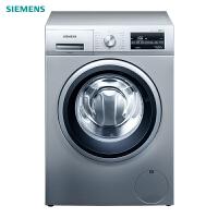 西门子(SIEMENS)WM12P2682W 10公斤 全自动变频滚筒洗衣机 家用大容量 高温筒清洁(银色)
