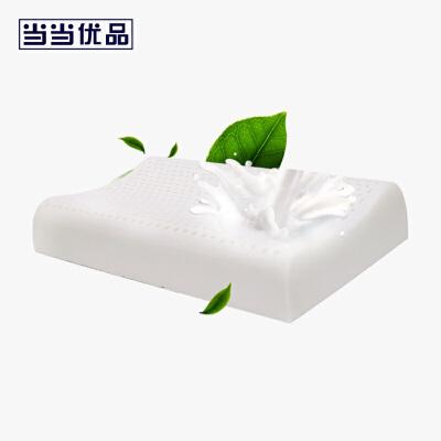 当当优品 进口天然乳胶枕芯 女士平滑曲线枕头 50*30*7/9NATURE REST制造商