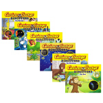 【中商原版】乔治猴科学大发现故事绘本6册 英文原版 Curious George Discovers 好奇猴乔治 儿童