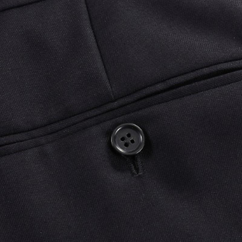 衬衫男学生黑色纯羊毛商务正装西裤 男秋冬厚欧版西装裤 黑色 发货周期:一般在付款后2-90天左右发货,具体发货时间请以与客服协商的时间为准