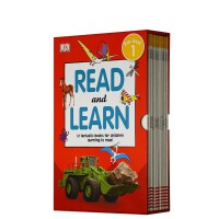 进口英文 DK Reader Read and Learn 儿童百科启蒙分级读物12册 预备级