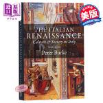 【中商原版】意大利文艺复兴时期的文化与社会(第三版)英文原版 Italian Renaissance Peter Bu