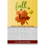 预订 Fall in Love Autumn Word Search Puzzles: Seek and Find W