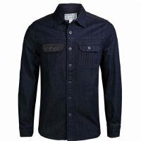 CONVERSE匡威2015新款男子牛仔外套衬衫 12459C001 CS