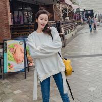 抖音同款秋装抖音章若楠同款新品秋装红色卫衣韩版女装美如西子2018