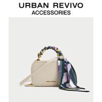 URBAN REVIVO2021春夏新品女士配件时尚拉链小方包AY20TG2N2001