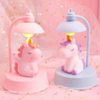 粉色少女心梦幻氛围小夜灯桌面音乐小摆件卧室台灯