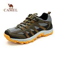 【每满100减50 200-100 300-150】CAMEL骆驼户外男款登山徒步鞋 春季新款透气网布减震徒步鞋子