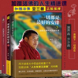 一切都是最好的安排1+2+3 加错作品集共3册 西藏生死书作者索甲仁波切人生加持与开示 佛经 佛学 宗教书籍