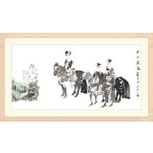 中国美术家协会会员 刘永杰《曲江游》JYP079