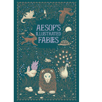 伊索寓言 英文原版 Aesop's Illustrated Fables 皮质Aesop  Barnes & Noble