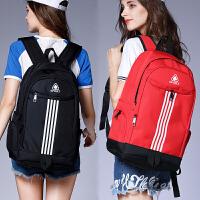大容量旅行包时尚潮流双肩背包韩版女高中初中学生书包电脑包