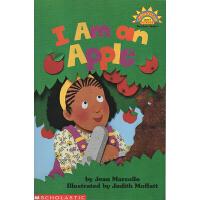 I Am an Apple 我是苹果 廖彩杏书单 Scholastic Reader L1 学乐分级科普阅读绘本图画书