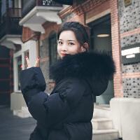 冬季孕后期长款大码外套孕妇冬装棉衣韩版宽松加厚棉袄