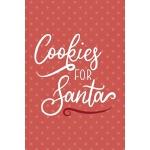 预订 Cookies For Santa: Notebook Journal Composition Blank Li