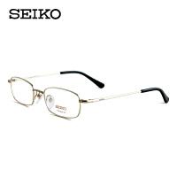 精工纯钛全框眼镜架商务型眼镜框近视眼镜H01046