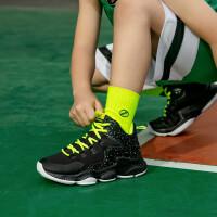 【618折后价:111.65】361儿童冬季男大童防滑耐磨高帮篮球鞋时尚舒适运动鞋N71941129