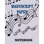 预订 Manu* Paper Notebook: Blank musical journal with 100 pag