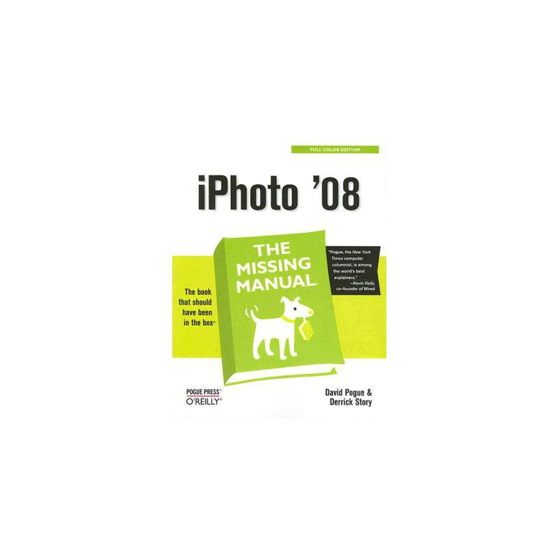 【预订】iPhoto '08: The Missing Manual 预订商品,需要1-3个月发货,非质量问题不接受退换货。